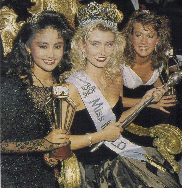 Winner of Miss World 1988 Title
