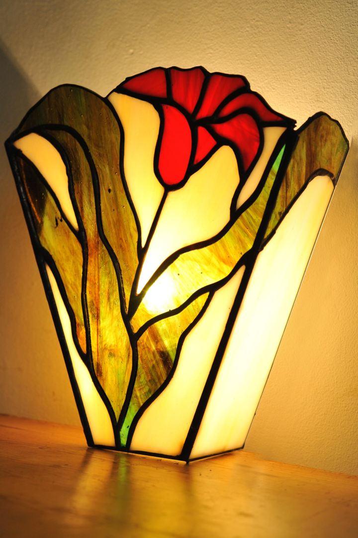 tulip sconce